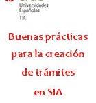 Publicada la guía de buenas prácticas para la creación de trámites en SIA