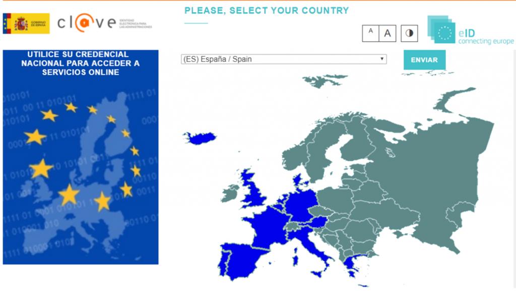 Identificación de ciudadanos de la Unión Europea