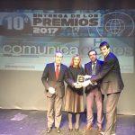 App Crue premiado por Comunicaciones Hoy en la categoría Educación